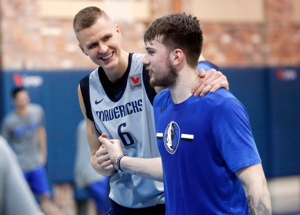 Image result for porzingis doncic