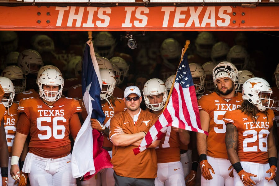 5 takeaways from Tom Herman's first Monday presser, including Texas' plan to honor Cedric Benson | SportsDay