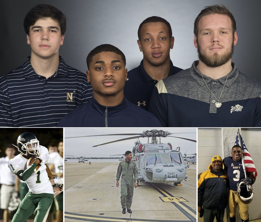 Flashback: How military academies present unique opportunity for football recruits in search of FBS chance | SportsDay