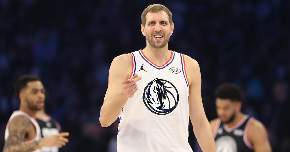 397847fdf Dallas Mavericks   I ll never forget this last ride   All-Star chapter of Dirk  Nowitzki s career closes in unexpectedly spectacular fashion
