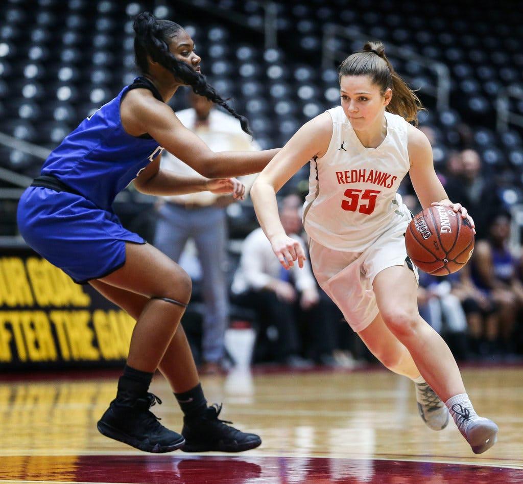 5A girls basketball roundup: No. 1 Timberview, Frisco Liberty reach regional finals