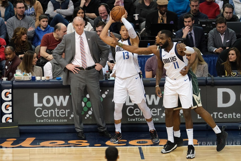 Rick Carlisle's offensive system has made the offensive adjustment easy for new Mavs, but this still needs to improve