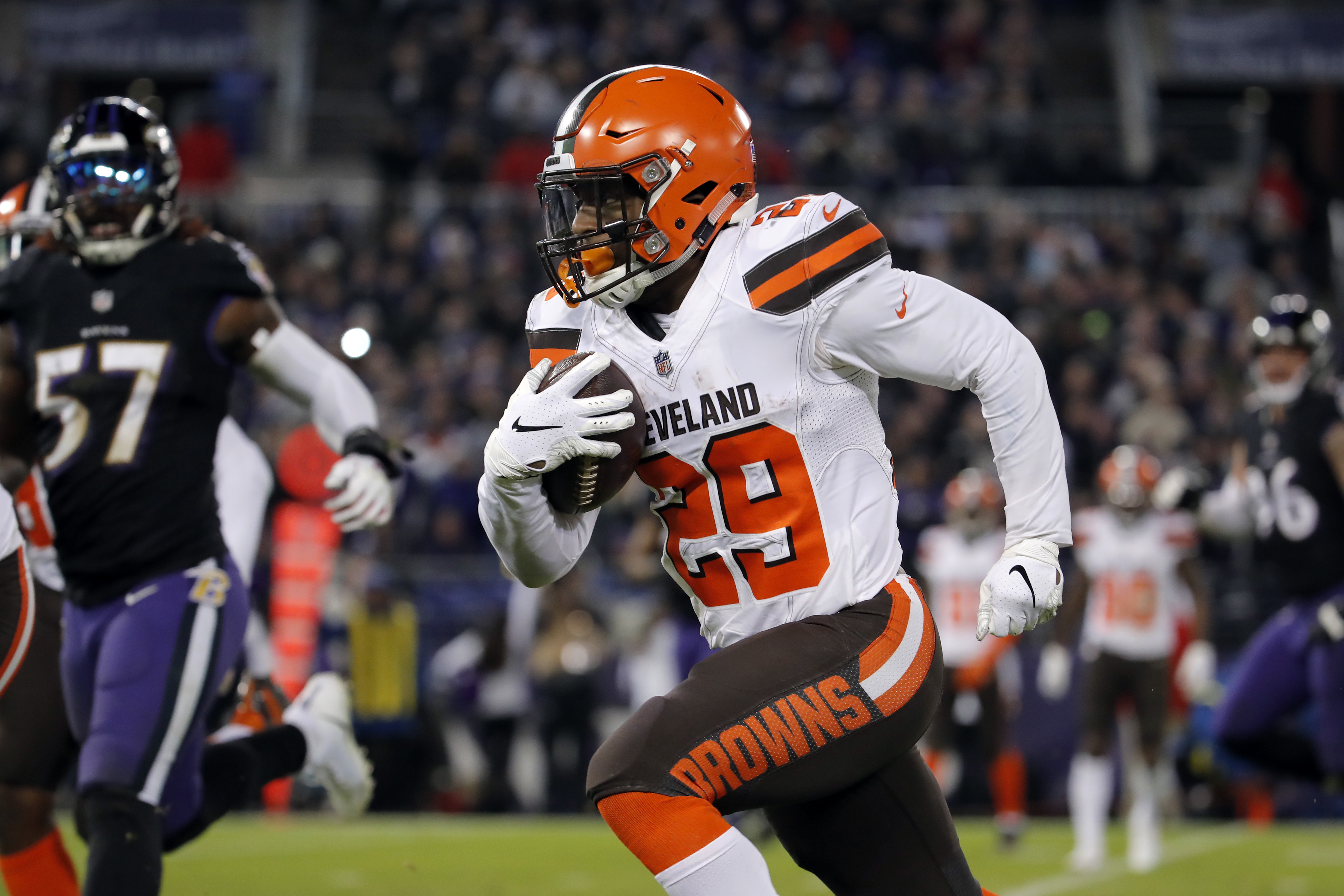 25b7cef40f68 Dallas Cowboys  Film room  Why the Cowboys should trade for Browns RB Duke  Johnson
