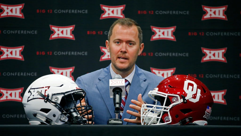 Oklahoma defensive coordinator Alex Grinch is trying to implement the same philosophy Lincoln Riley uses on offense