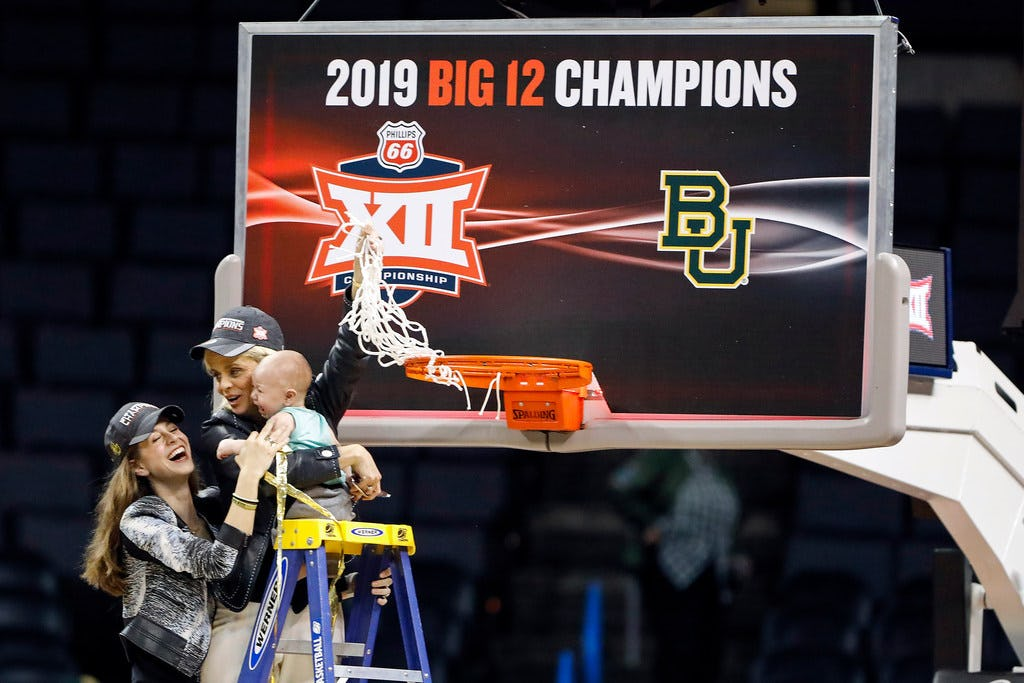 AP women's basketball poll: Baylor finishes No. 1 for third time in school history; see full final top 25 here