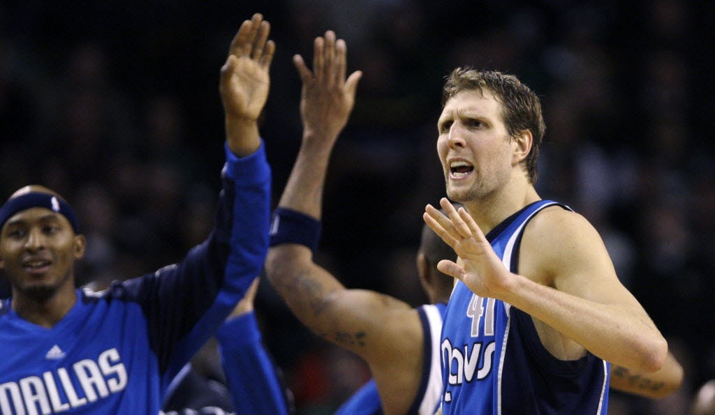 History is made: Dirk Nowitzki passes Wilt Chamberlain as the No. 6 scorer in NBA history