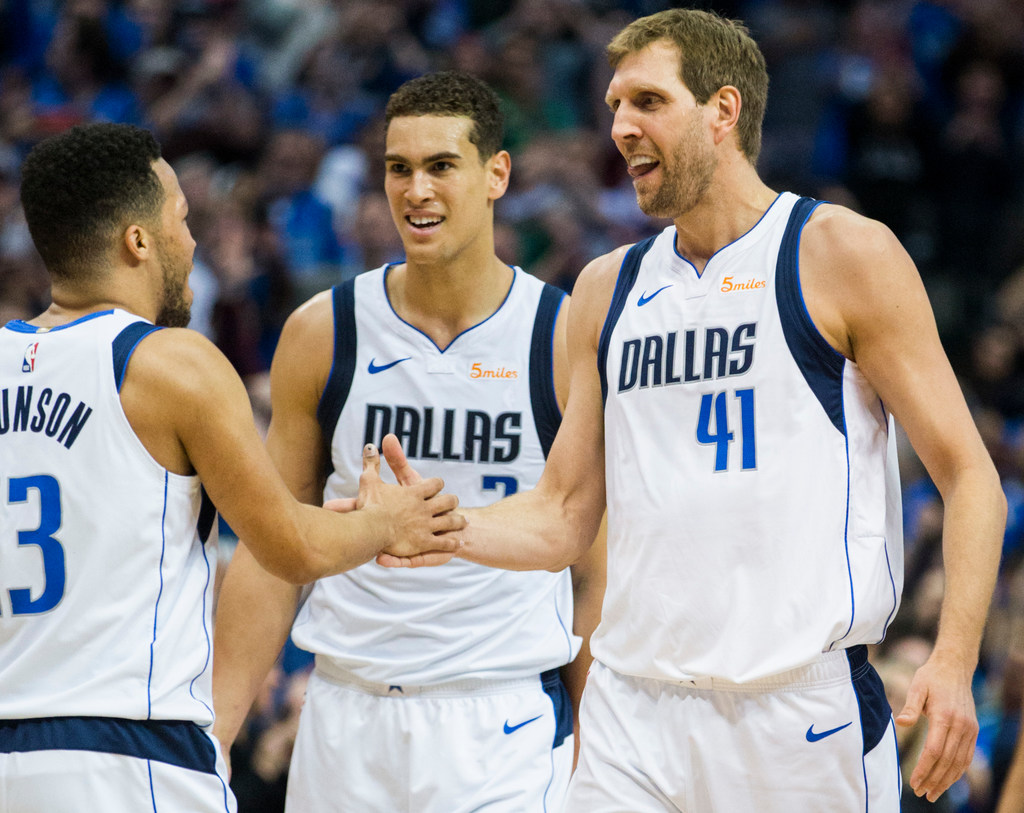 45b37ab9e Dallas Mavericks  An attempt to describe the insanity that is Mavs icon Dirk  Nowitzki passing the great Wilt Chamberlain