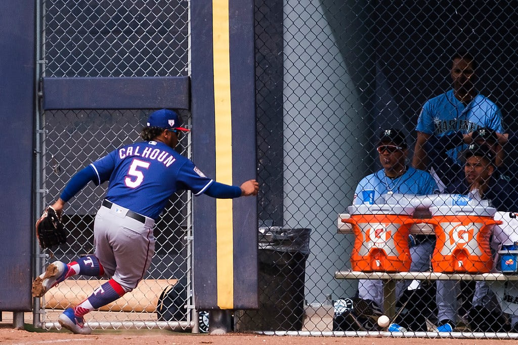 Here is why Willie Calhoun did not respond correctly to the Rangers optioning him to AAA