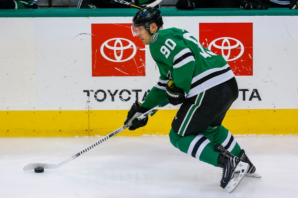 Jason Spezza's healthy scratch widens Stars search for top-six forward