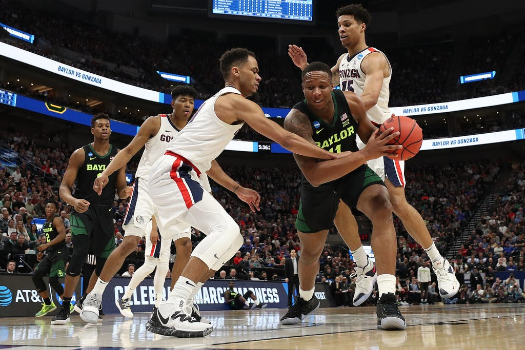 Mark Vital's foul trouble proves costly for Baylor as season ends with loss to Gonzaga in second round of NCAA tournament
