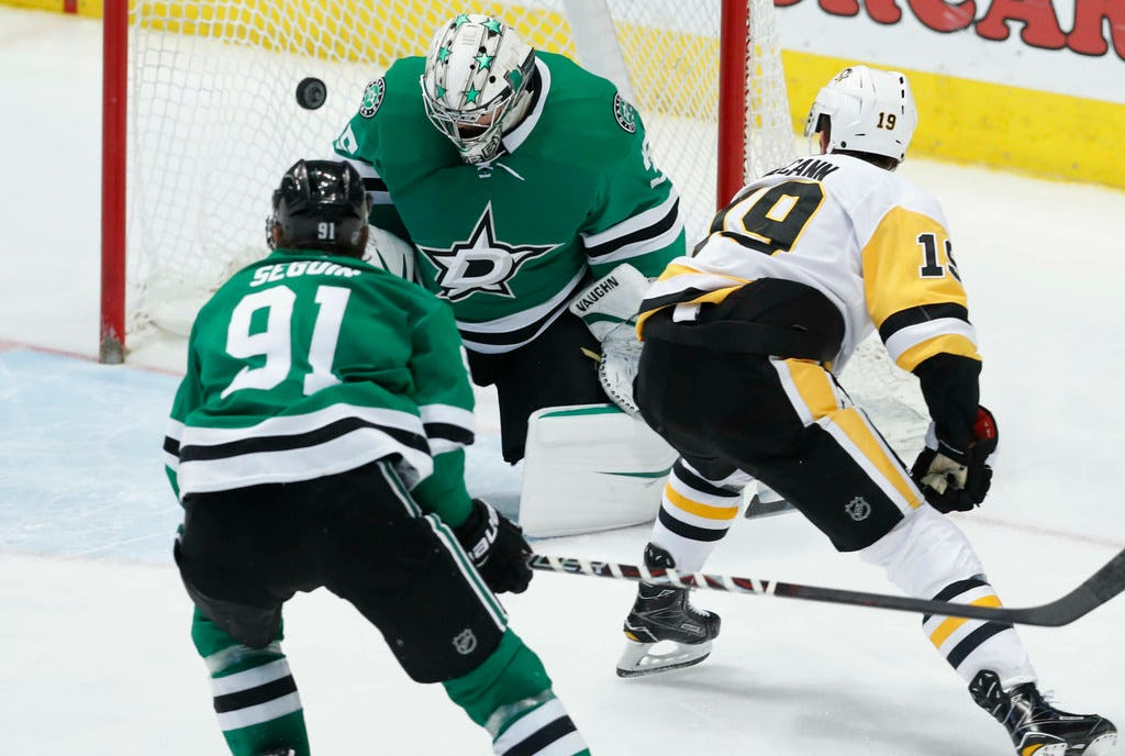 Memories of last year's March swoon creep in with Stars loss to Pittsburgh