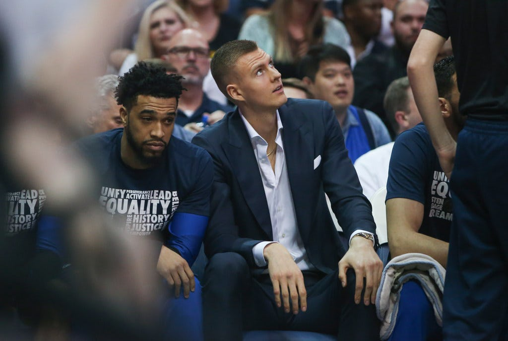 Report: Kristaps Porzingis under investigation by NYPD for alleged rape hours after 2018 ACL injury