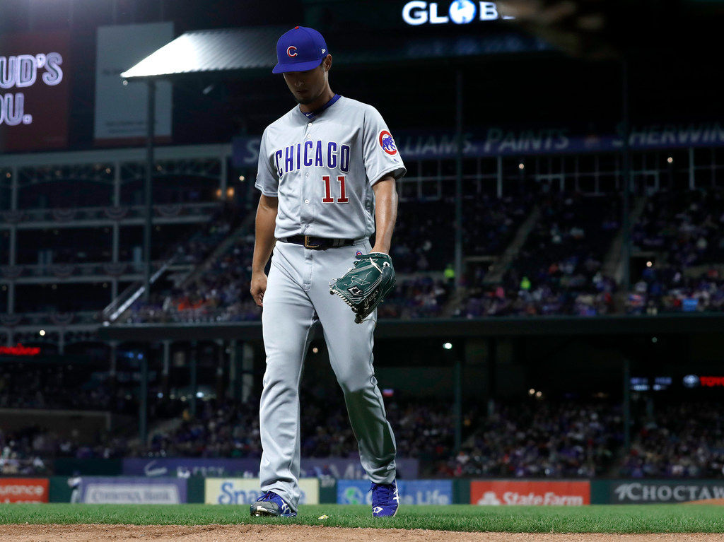 ffebbe4ce Texas Rangers  Did Yu Darvish s return to Texas show why parting ways with  their former ace was the best course of action for the Rangers