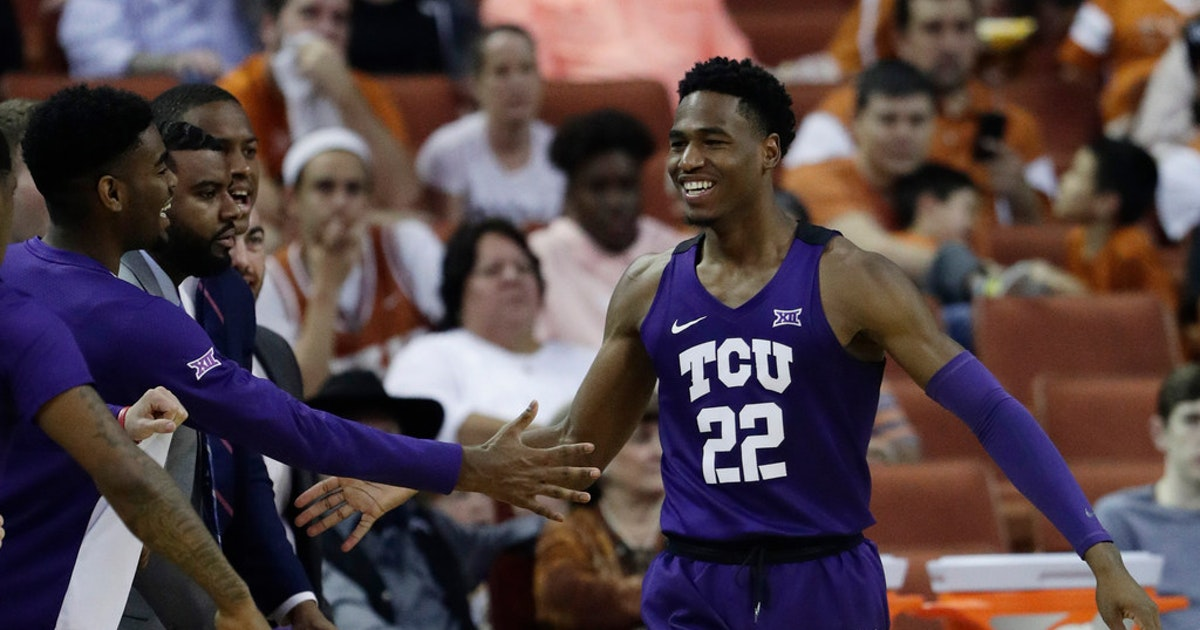 5d625bd24b9 College Sports: TCU NIT semifinal prediction: Will Horned Frogs get the  brooms out vs. Texas in NYC? | SportsDay