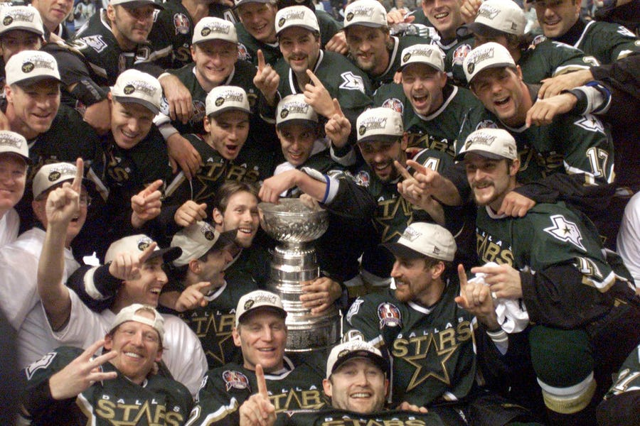 20 years later: Remembering the Dallas Stars' Stanley Cup win, and the wild parties that followed | SportsDay