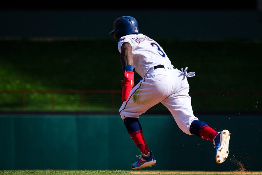 Going against conventional baseball wisdom, Rangers have taken different approach to stealing bases