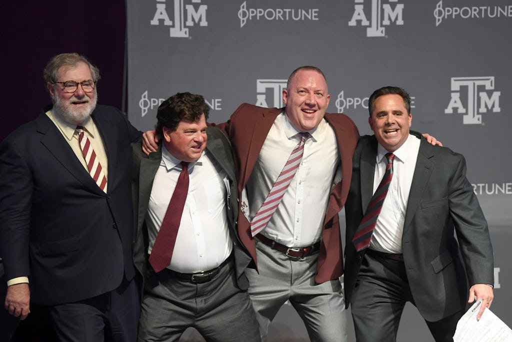 Report: Texas A&M athletic director Scott Woodward to take the same position at LSU