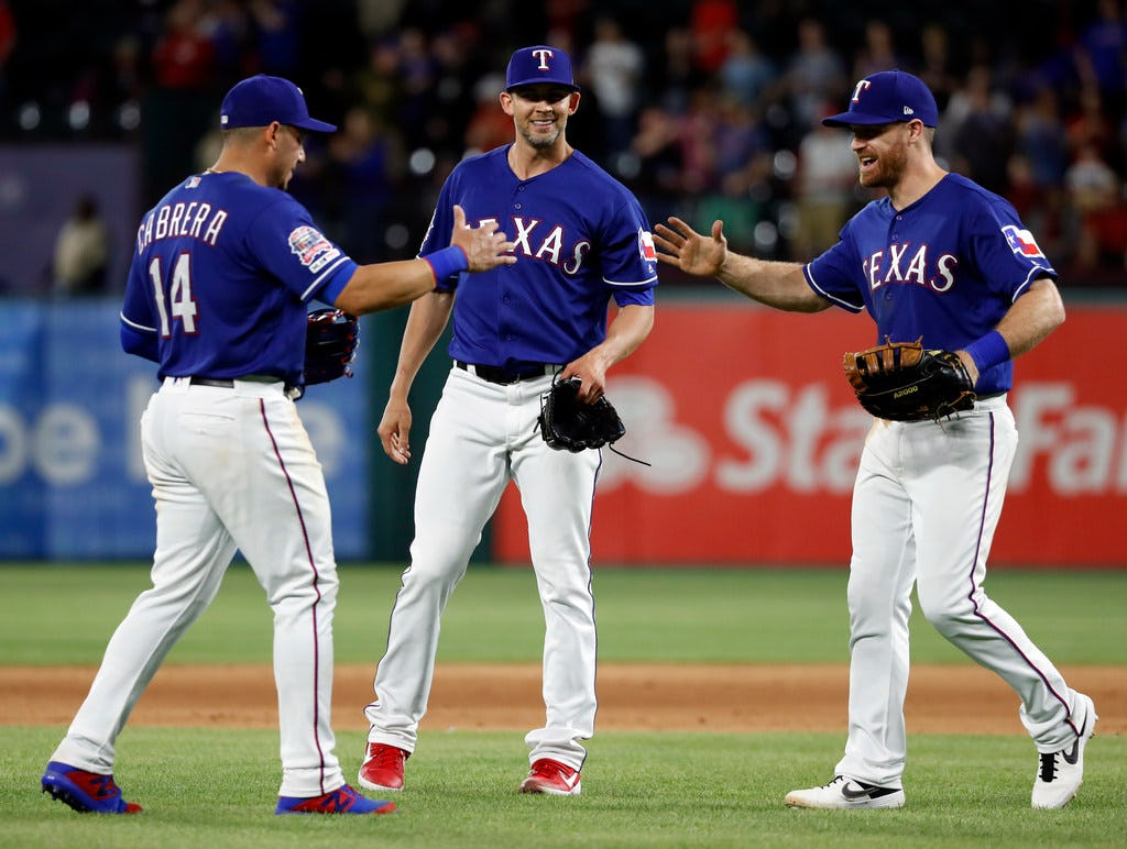 The Rangers are above .500 to start the season, but don't be too surprised