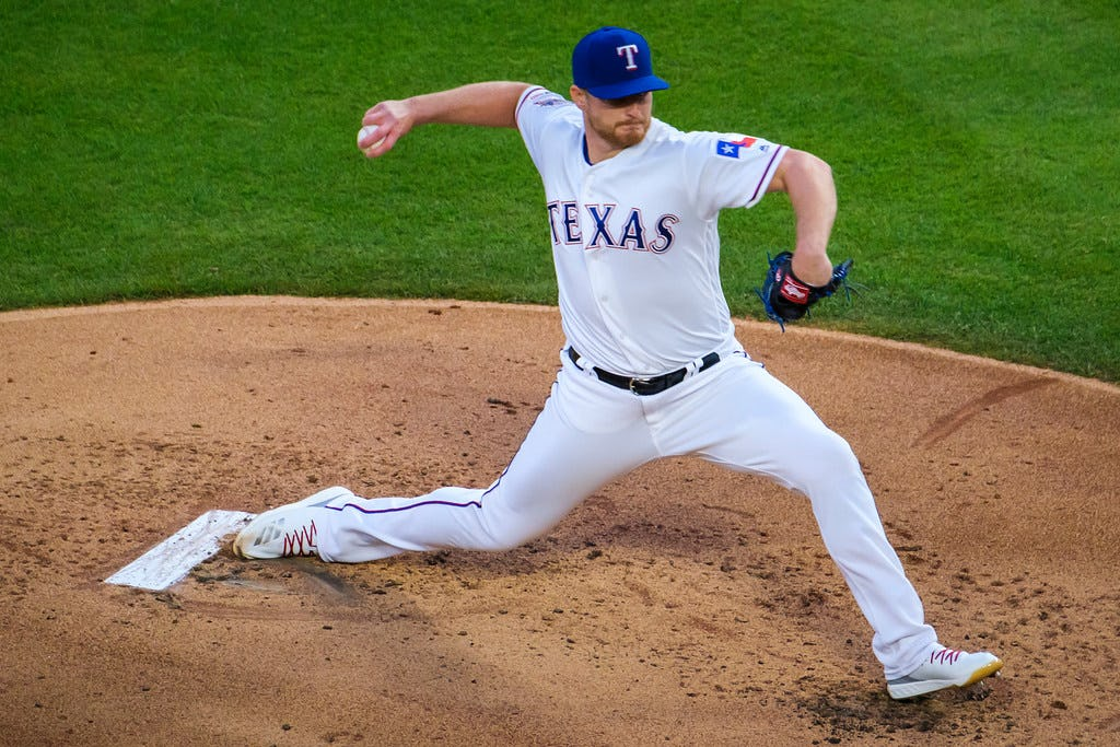 Rangers' rotation still adjusting to a changed game, and these high pitch counts reflect that