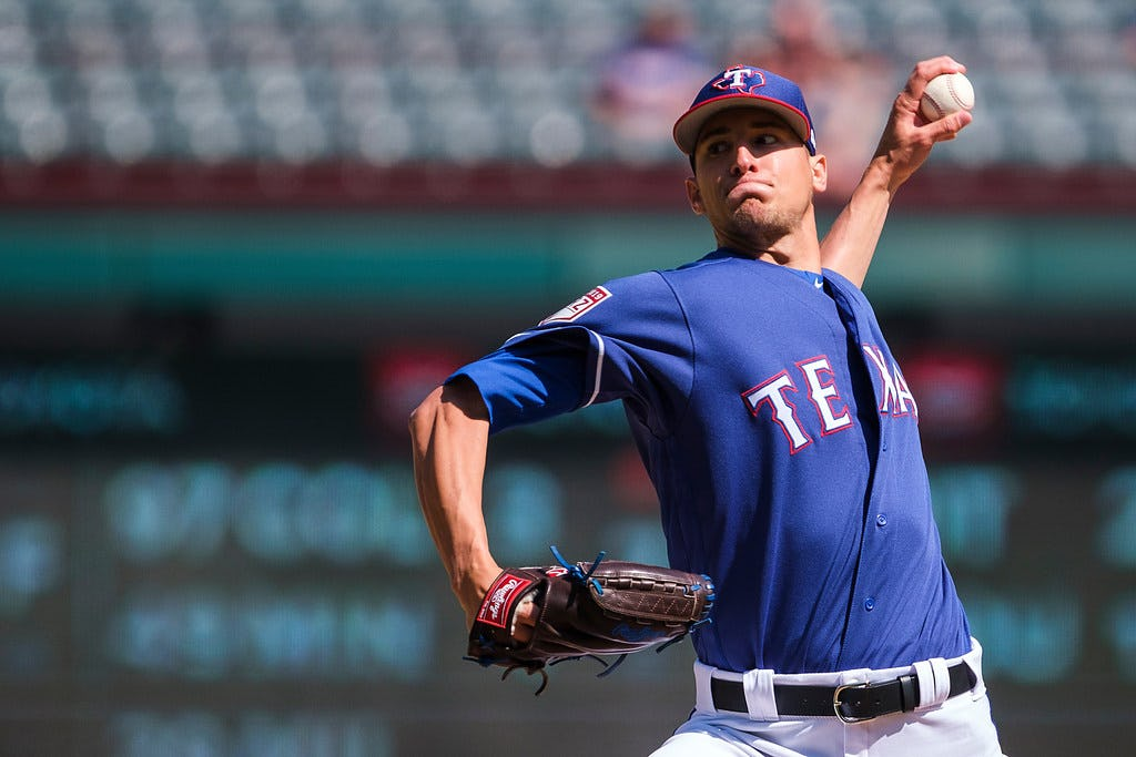 Stop tripping, man: Brett Martin felt calm, cool and collected in his Rangers debut
