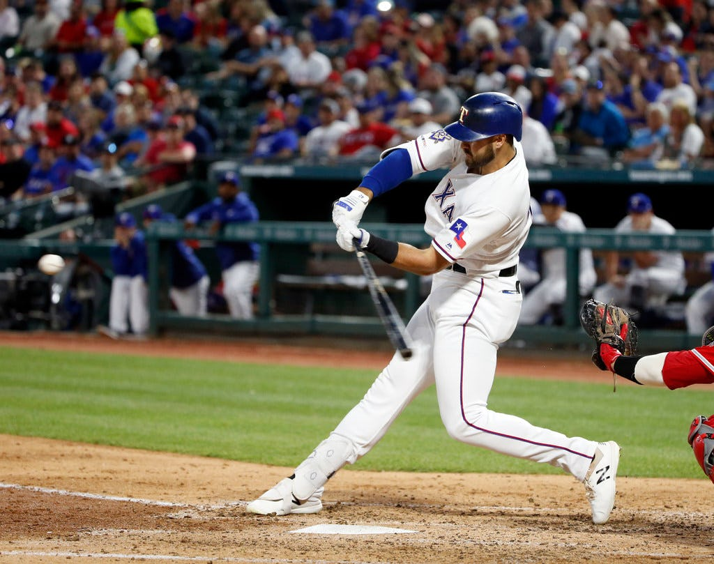 Rangers slugger Joey Gallo can appreciate bat-flipping and emotion. He'd just rather not wear fastballs.