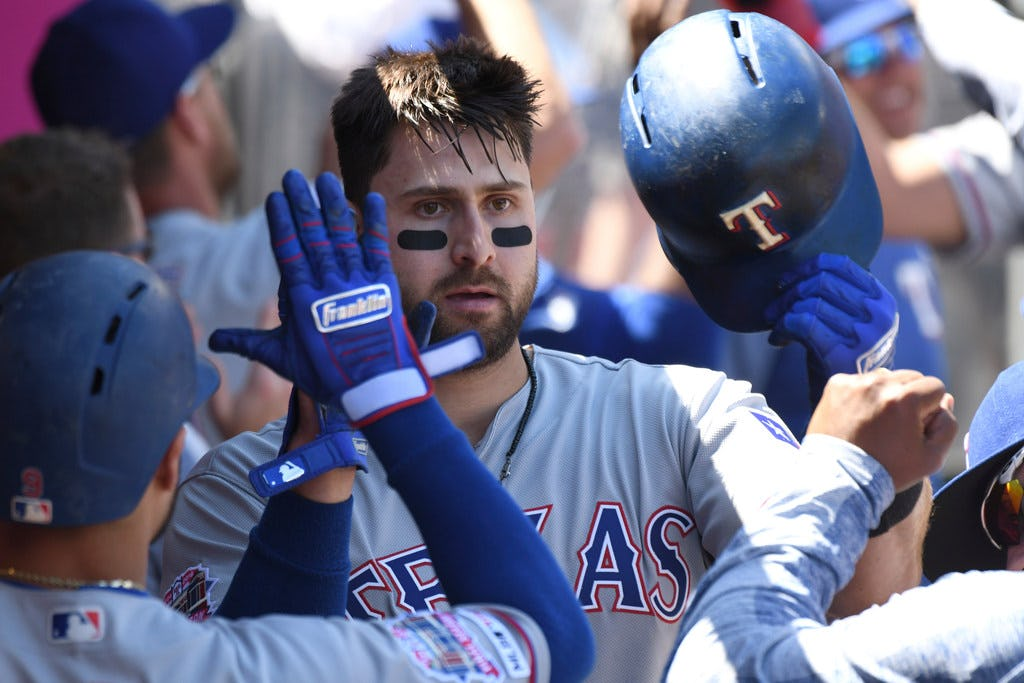 Rangers outfielder Joey Gallo named American League Player of the Week