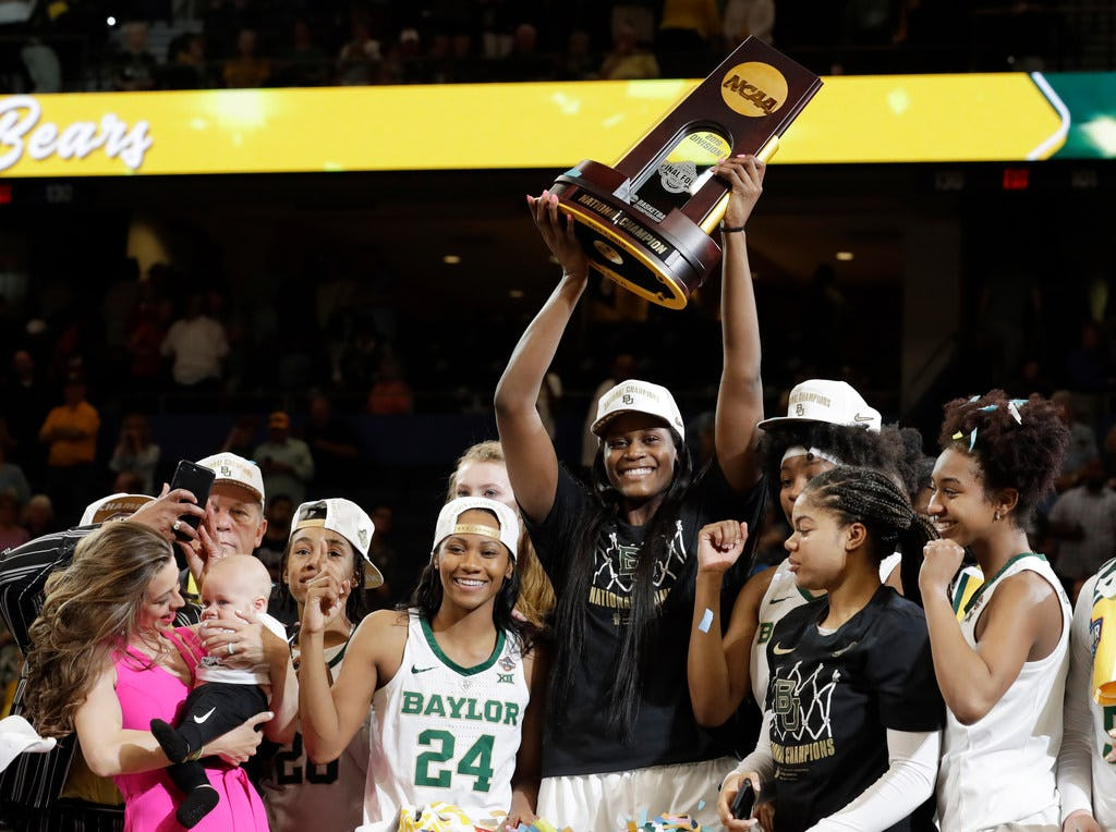 NCAA women's basketball champion Baylor accepts invitation to visit White House