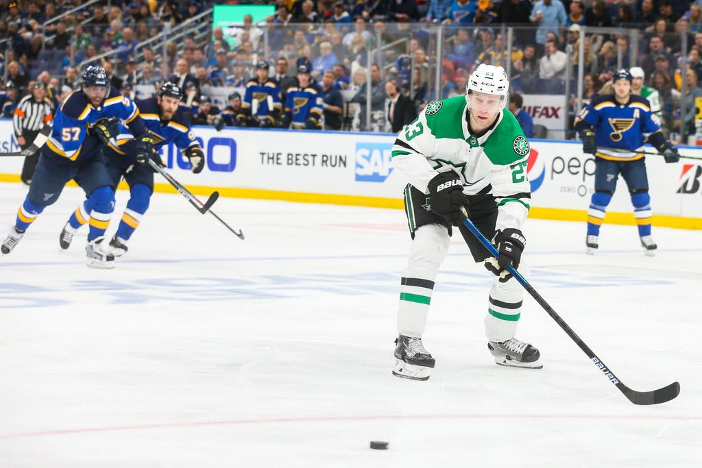 Stars notebook: Dallas gets out in transition, Esa Lindell cracks the scoresheet
