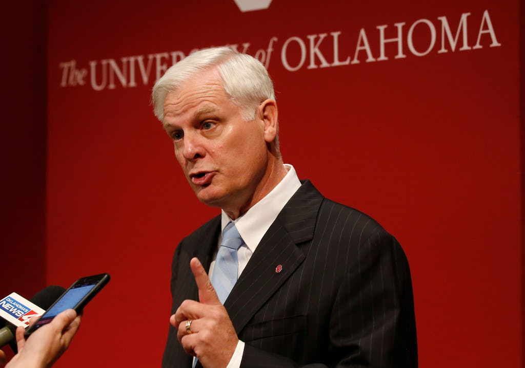 How Oklahoma's search for a new president could impact the future of the athletic program and beyond