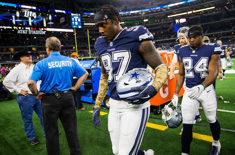 Dallas Cowboys defensive end Taco Charlton has second surgery of offseason