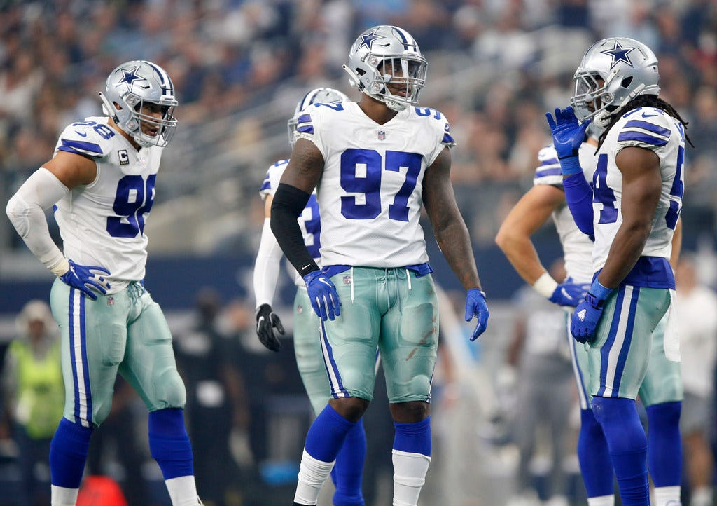 Is Taco Charlton a candidate to be cut by the Cowboys before the regular season begins?