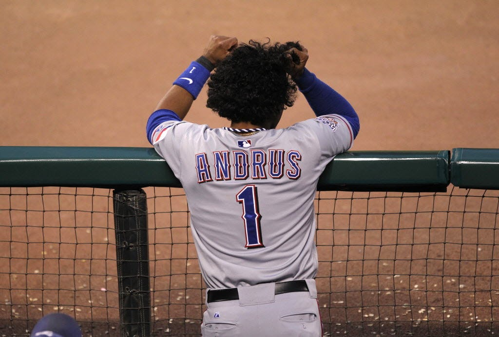 VOTE: New hairdo, who dis? Choose which Elvis Andrus' haircut comparison is the best