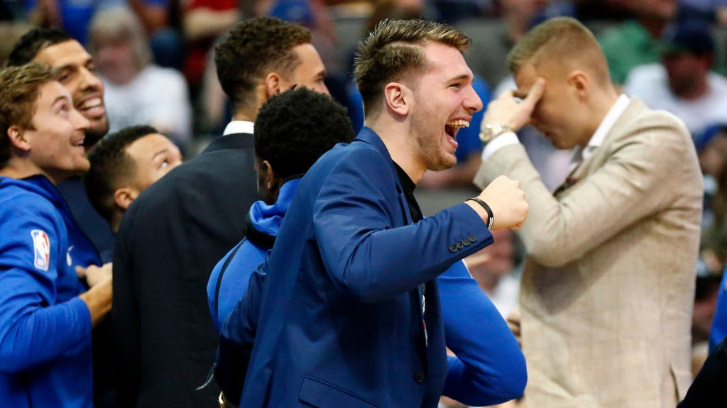 Mavs' Luka Doncic named one of three finalists for NBA's Rookie of the Year award