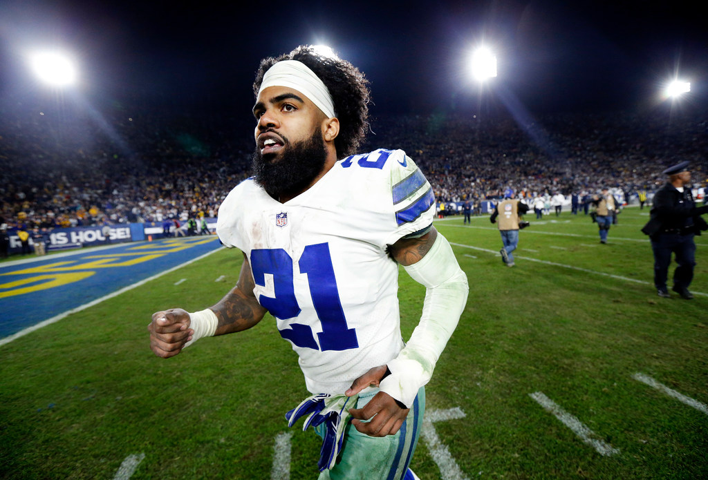 dda4dd35e16 Ezekiel Elliott on why he's NFL's best RB and why Cowboys are capable of  being NFL's best team