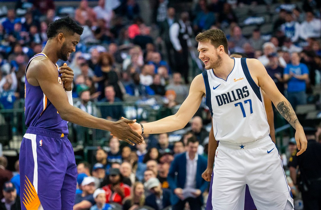 c5ee8d6fd3b12 Dallas Mavericks sensation Luka Doncic named one of two unanimous NBA  all-rookie first team members