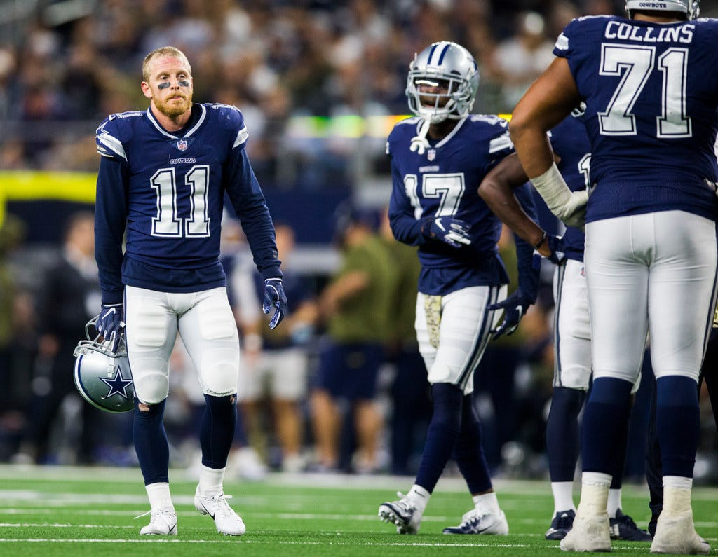 Former Cowboys WR Cole Beasley not available for Bills at the start of OTAs
