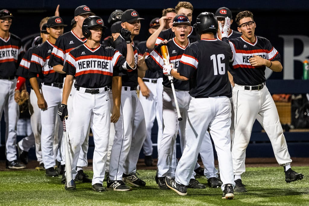 Why Colleyville Heritage will play a Texas high school baseball playoff game at the University of Oklahoma this weekend