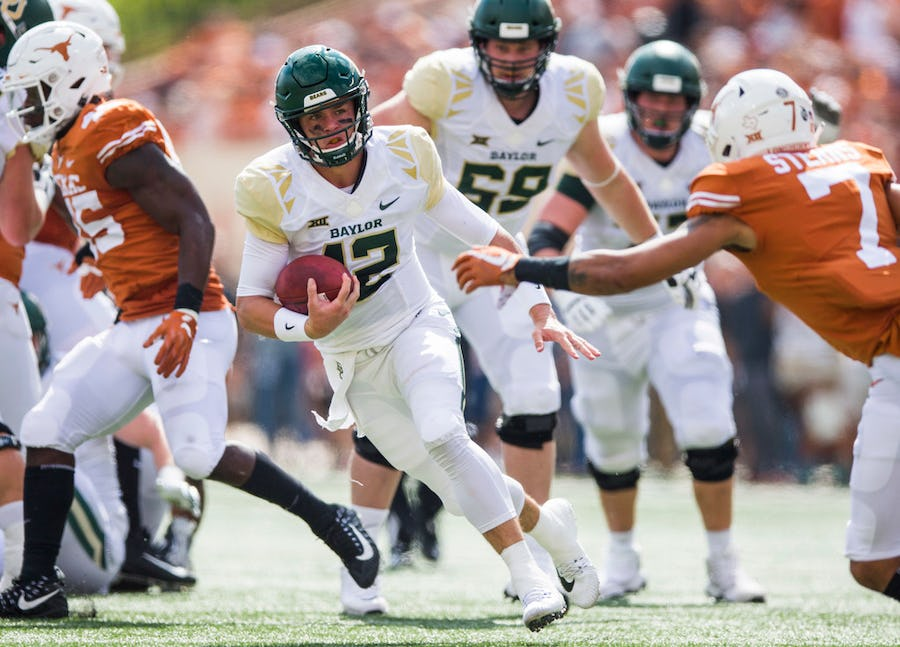 Fierce and fearless: How Baylor's Charlie Brewer emerged as one of college football's toughest customers | SportsDay