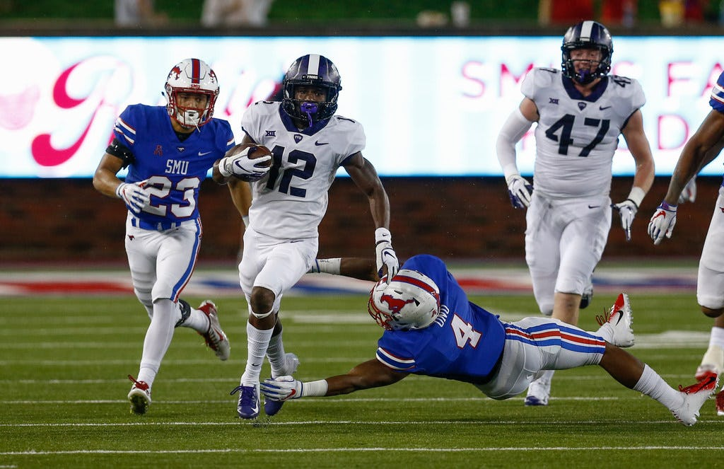 Should TCU football keep scheduling SMU? Here's why it's the Horned Frogs' best option