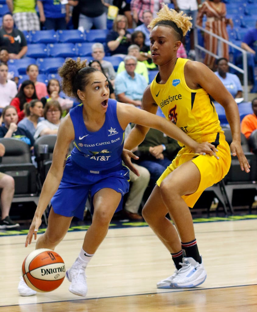 Even in a season-opening loss, Brooke McCarty-Williams showed exactly why she belongs on this Wings' roster