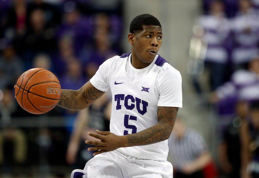 Report: Ex-TCU basketball guard Kendric Davis transferring to SMU