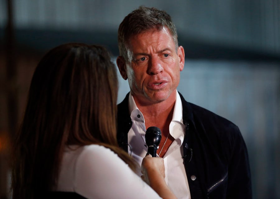 Troy Aikman on evolving media attention toward NFL players today, why Dak Prescott is perfect fit as Cowboys QB