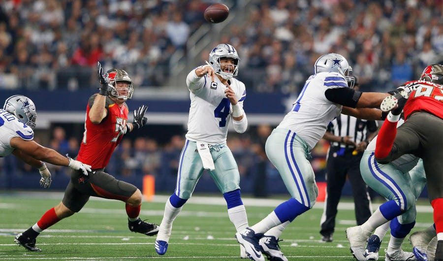 Film Room: Counting down Dak Prescott's Top 5 throws of 2018 - No. 5