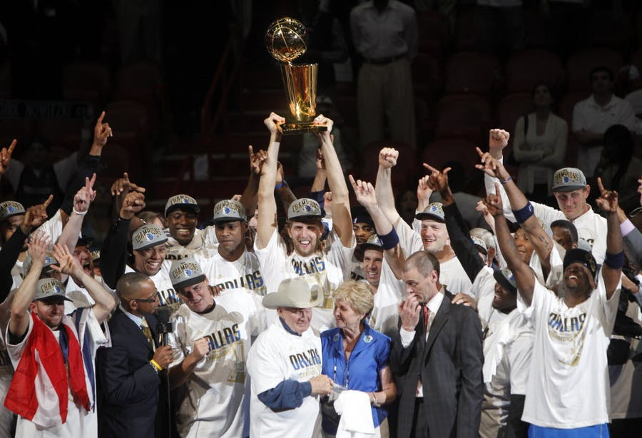 Flashback: Eight years ago today, Dirk Nowitzki and the Dallas Mavericks won their first NBA championship