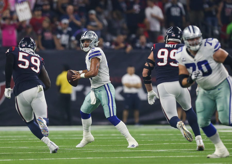 Dak Prescott's 5 best throws of 2018: Inside the Cowboys QB's ability to get creative while under pressure