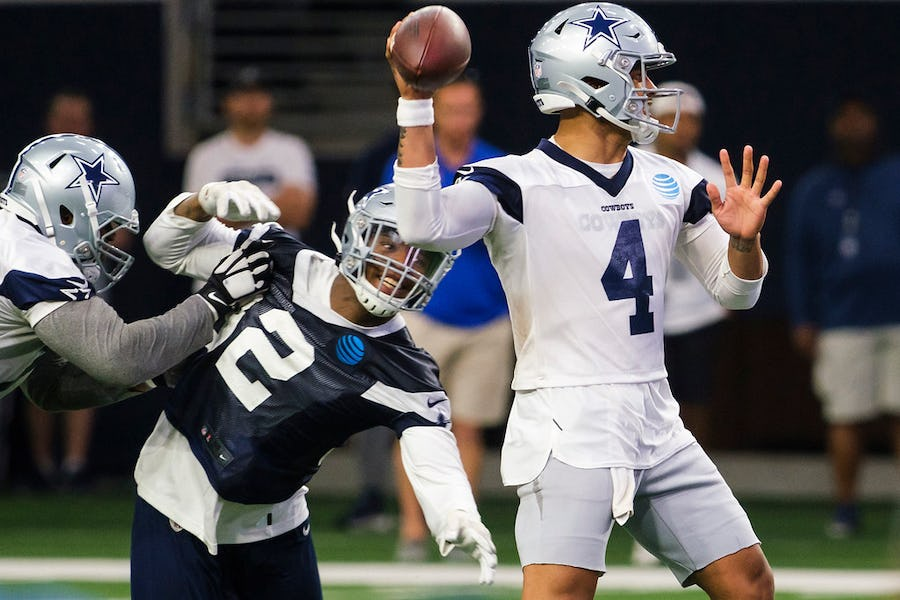 'He truly is chasing greatness': As contract extension looms, Dak Prescott has put together his best offseason yet