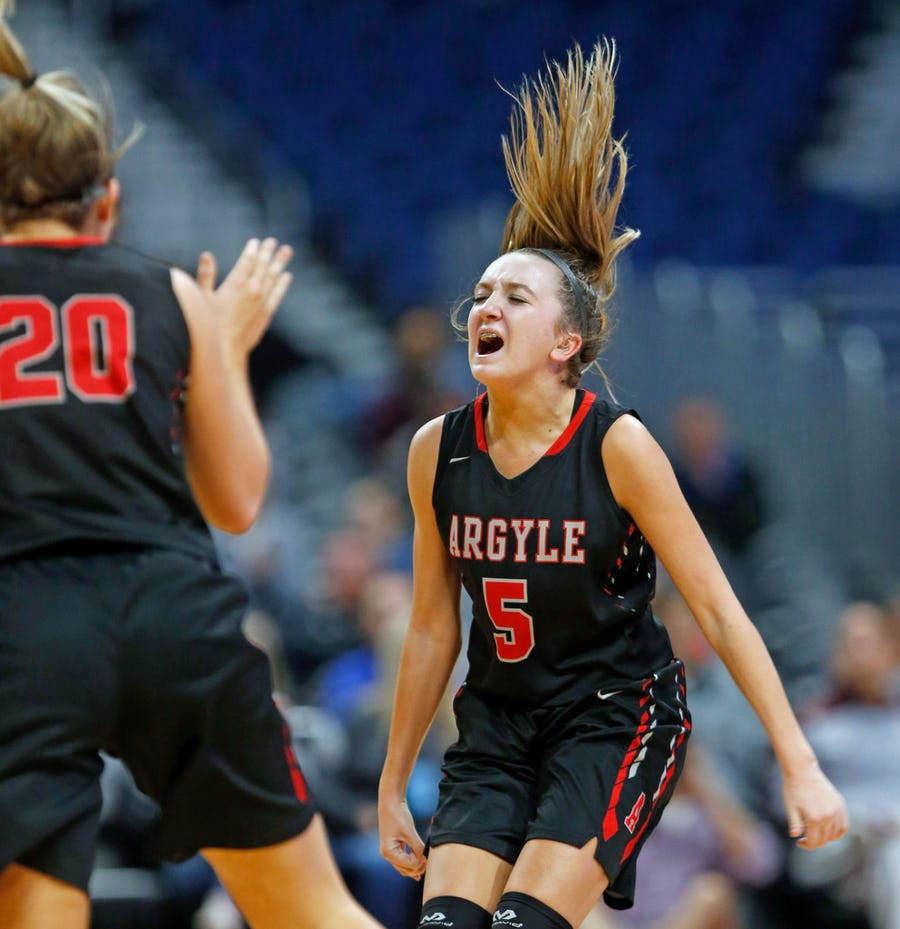 Rhyle McKinney of state champion Argyle commits to SMU for basketball