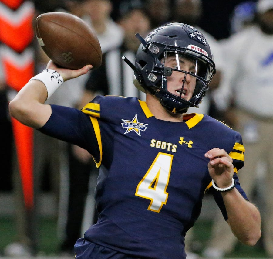 Highland Park QB Chandler Morris – No. 27 overall recruit in SportsDayHS top 50 – commits to Arkansas
