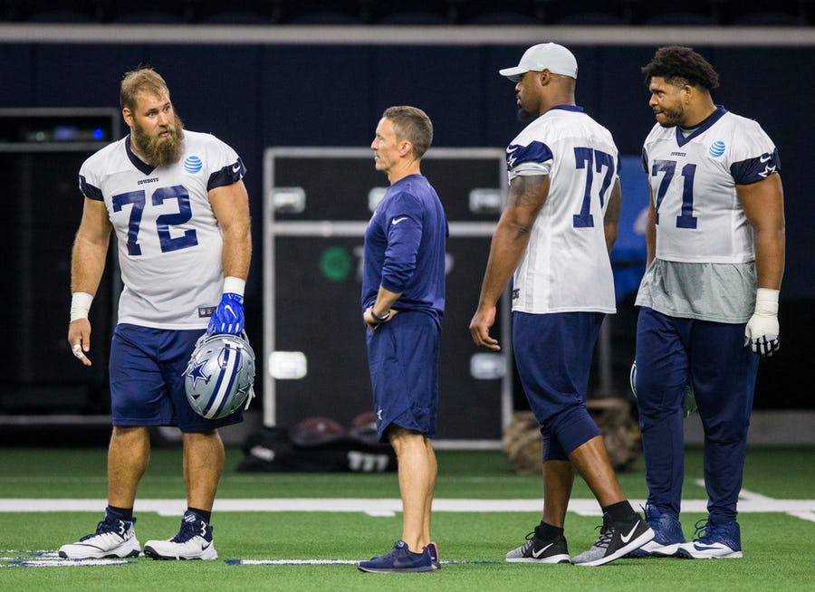 Are the Dallas Cowboys spending too much money on the offensive side of the football?