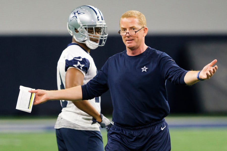 Should Jason Garrett give up some of his control over the Dallas Cowboys' offense? | SportsDay